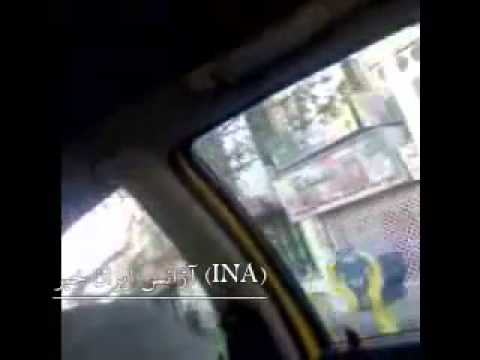 Riot police in Tehran when Regime cuts economic subsidies - Iran 19 Dec. 2010