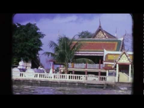 Chao Phraya River Tour 1971 – Bangkok Thailand – 8mm HD
