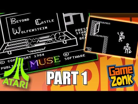 Beyond Castle Wolfenstein - Atari XL Play Through - Part 1