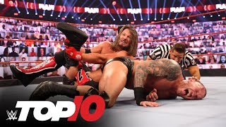 Top 10 Raw moments: WWE Top 10, Nov. 23, 2020