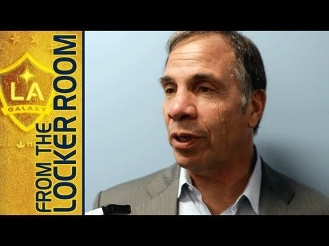 Bruce Arena Locker Room Reaction vs Philadelphia Union 5/15/13