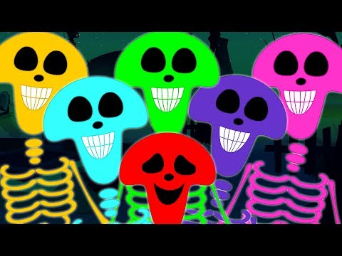 Skeleton March | Scary Nursery Rhymes | Haunted House Videos For Kids