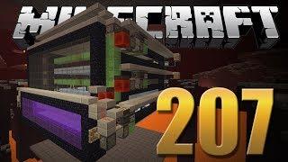 Farm de Wither Skeleton Finalizada - Minecraft Em busca da casa automática #207.