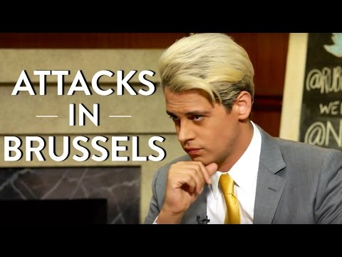 Milo Yiannopoulos and Dave Rubin Talk Brussels Attacks