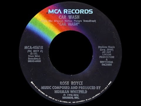 Rose Royce ~ Car Wash 1976 Disco Purrfection Version