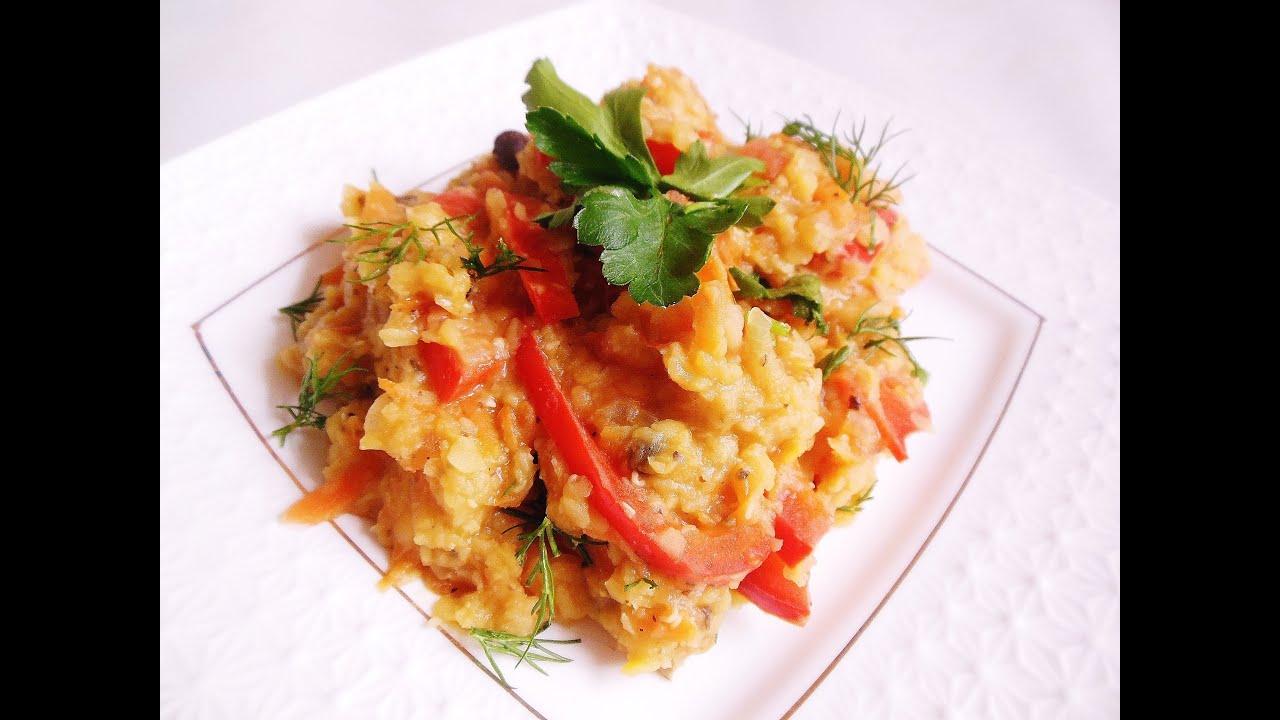 Каша из чечевицы рецепты просто и вкусно пошаговый рецепт