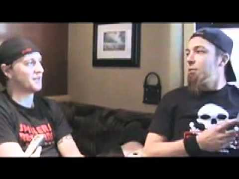 Video Interview with Bullet For My Valentine guitarist Michael Paget and drummer Michael Thomas