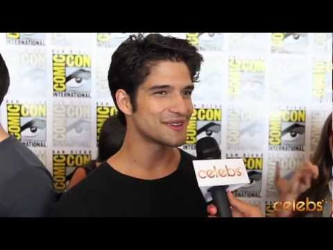 Teen Wolf's Tyler Posey at Comic Con - a Celebs.com Original