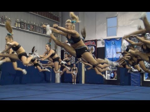 Cheer Extreme Senior Elite 2013 WORLDS final practice