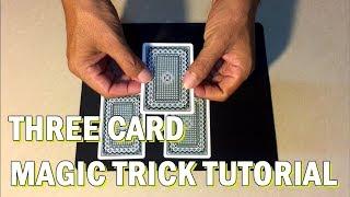 បង្រៀនក្បាច់ សៀកបៀរ បីសន្លឹក // Three Card Magic Tricks Tutorial