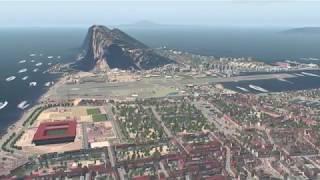 Gibraltar X for FSX - X-Plane conversion