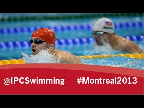 2013 IPC Swimming World Championships Montreal, Tuesday 13 August, evening session
