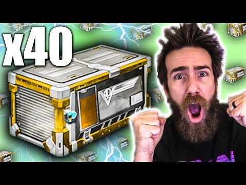 40 ROCKET LEAGUE VICTORY CRATE OPENING!