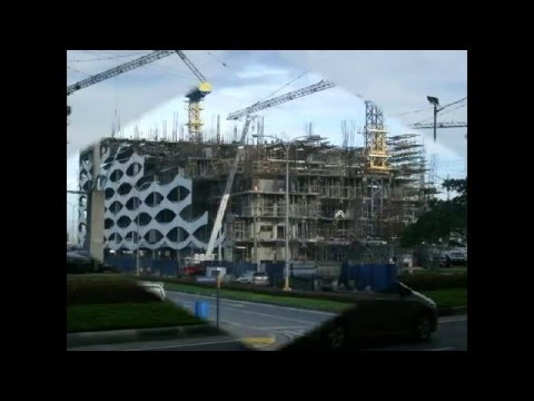 pagcor tower**ENTERTAIMENT CITY manila bay CONSTRUCTION on going,,,update january 2011