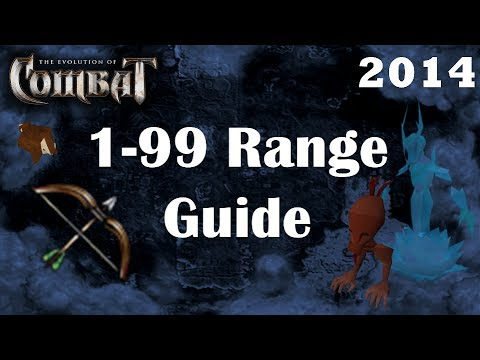 Level 1-99 Ranged Guide EoC | Lv99 in 40 hours | Fastest Combat Training Runescape 3