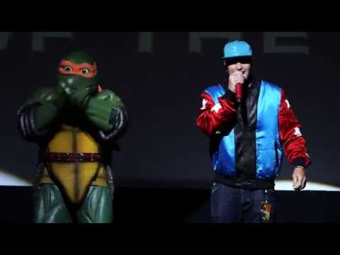 Teenage Mutant Ninja Turtles 2 (2016) - Vanilla Ice Premiere Performance - Paramount Pictures