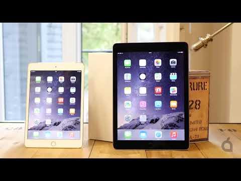 Nuevos iPad Air 2 y iPad mini 3: primeras impresiones