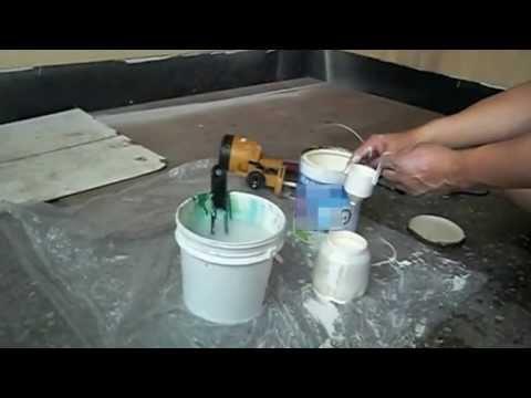 hvlp spray latex paint haupon sprayer youtube. Black Bedroom Furniture Sets. Home Design Ideas