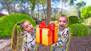 🎁 ENCONTRAMOS un REGALO ESCONDIDO en el JARDÍN!! ItarteVlogs