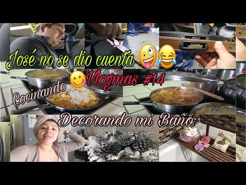 Decorando y Oganizando mi Baño/ Preparando la Comida/ José y sus inventos Vlogmas #14
