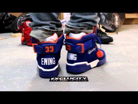 EWING 33 HI BLUE/WHITE/ORANGE