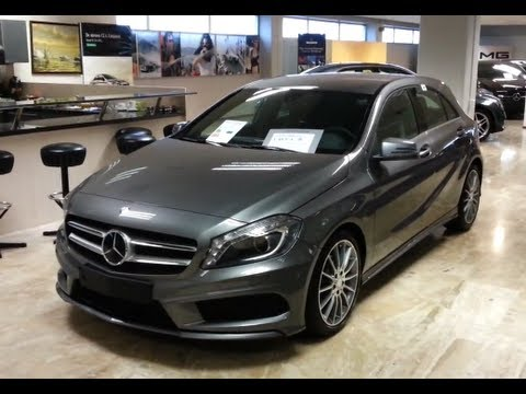 Mercedes-Benz A class 2014 AMG in depth review Interior Exterior