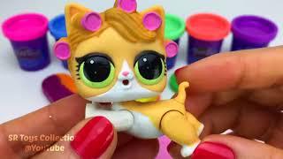 Surprise Toys LOL Kinder Surprise Eggs _ Making 3 Ice Cream