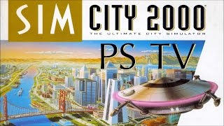 SimCity 2000: HD Gameplay (PS TV)