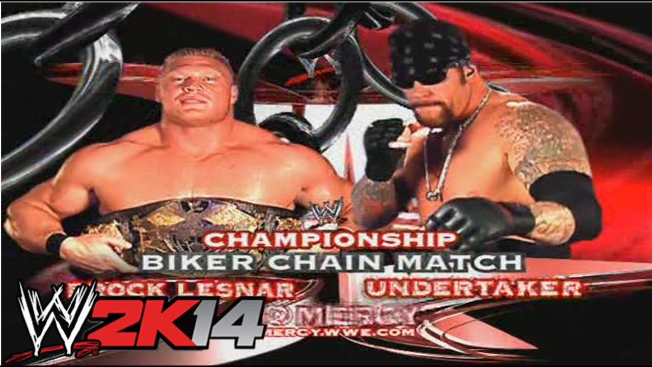 Undertaker Vs Brock Lesnar No Mercy 2002 WWE 2K14 Brock Lesnar vs