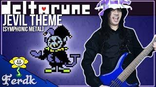 """DELTARUNE - """"THE WORLD REVOLVING (Jevil Theme)""""?Symphonic Metal Guitar Cover? by Ferdk"""
