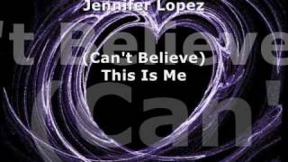 Watch Jennifer Lopez Can You See video