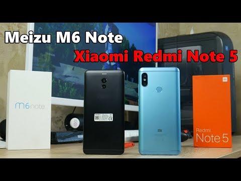 Что купить Xiaomi Redmi Note 5 или Meizu M6 Note в 2018 году?
