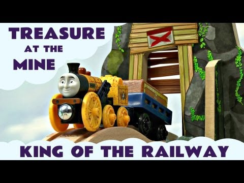 Thomas And Friends King Of The Railway Treasure At The Mine Set Kids Toy Train Set Thomas The Tank