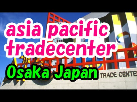 Japan Travel: Asia & Pacific Trade Center shopping at Nanko area, Osaka006 Moopon
