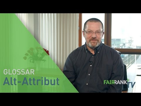 Alt-Attribut | FAIRRANK TV - Glossar