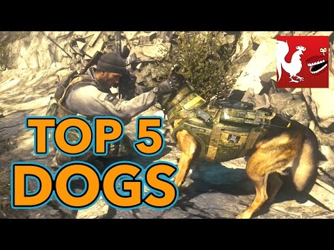 Top 5 Dogs in Video Games