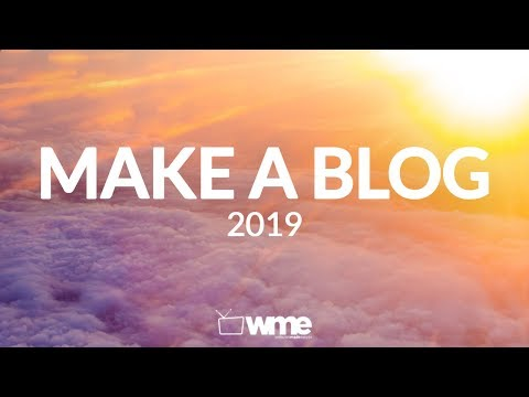 How To Make A WordPress Blog Step By Step For Beginners 2018