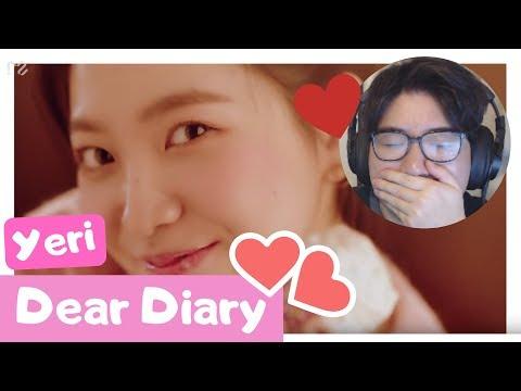 Download Red Velvet Yeri - Dear Diary Reaction Mp4 baru