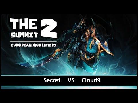 [ Dota2 ] Secret vs Cloud9 - The Summit 2 European Qualifiers - Thai Caster