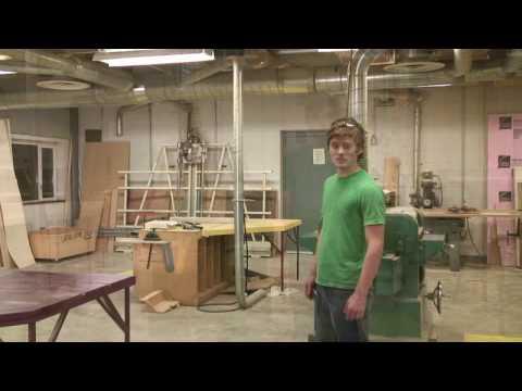 setting up a woodshop