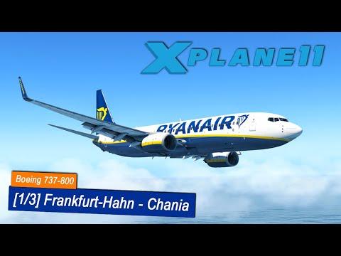 X-Plane 11 #16   Frankfurt-Hahn - Chania   Ryanair Boeing 737-800   ZIBO Mod   Flugvorbereitung
