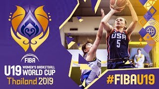 Korea v USA - Full Game - FIBA U19 Women's Basketball World Cup 2019