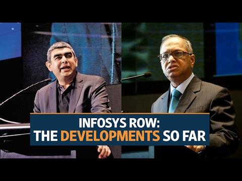 Infosys row: The developments so far