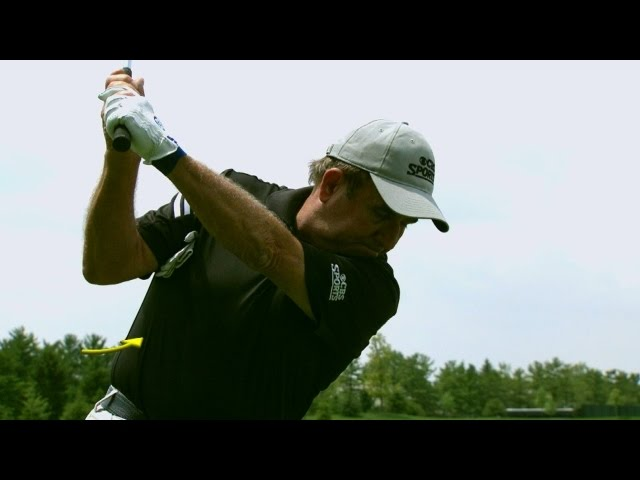 Peter Kostis' swing tutorial featuring Ben Hogan at Travelers