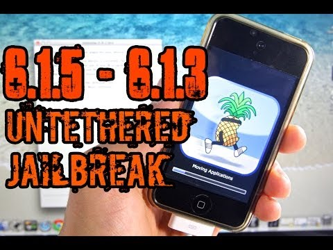 NEW How To Jailbreak iOS 6.1.5 & 6.1.3 UNTETHERED - iPhone 4/3Gs & iPod Touch 4G P0sixspwn