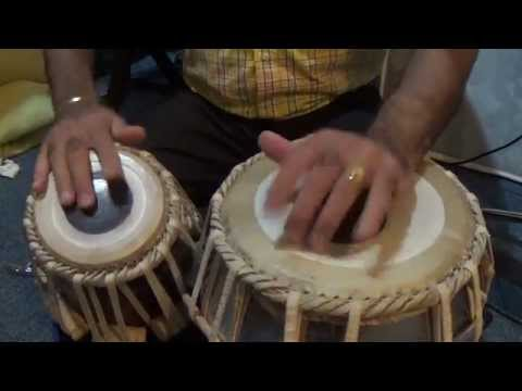 Tabla Lesson # 17 Qawwli & Fast Beat -  Kehrava Taal video