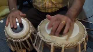 Tabla Lesson # 17 Qawwli & Fast Beat -  Kehrava Taal