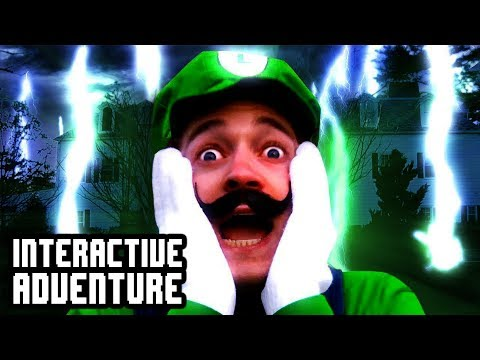 Luigi's Mansion Interactive Adventure Game!