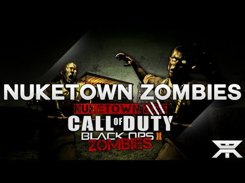 NEW Black Ops 2 Nuketown Zombies Gameplay HD + Mystery Box, Zombie Weapons, and More!