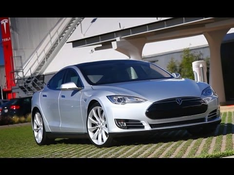 2013 Tesla Model S Video Review -- LA to Vegas the hard way